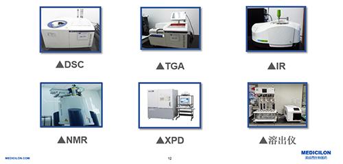 Research and development laboratory equipment of Medicilon